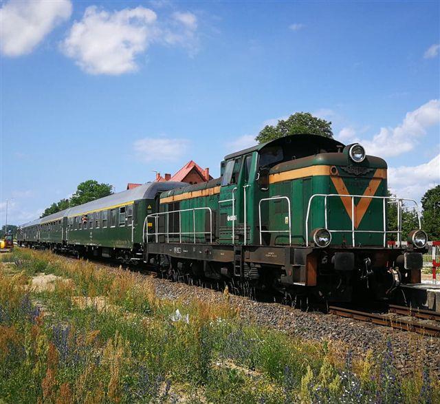 Wsiąść do pociągu…historycznego