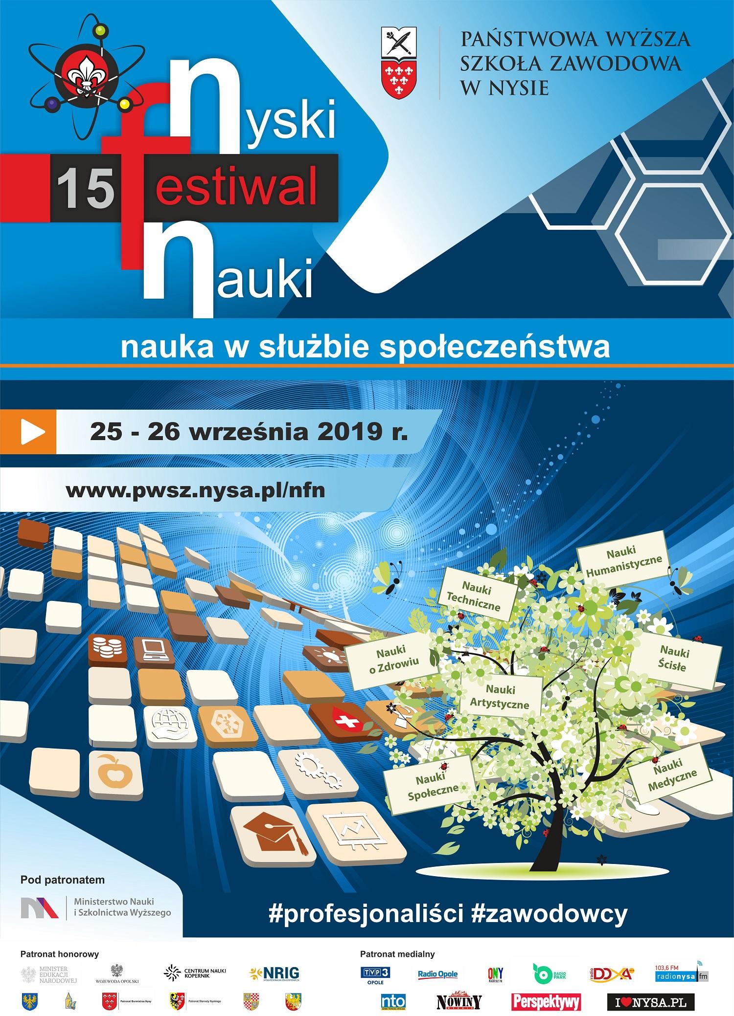 XV Jubileuszowy Nyski Festiwal Nauki w PWSZ