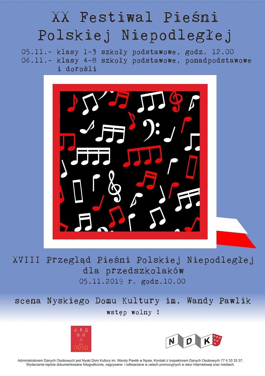 Festiwal Pieśni Polski Niepodległej w NDK