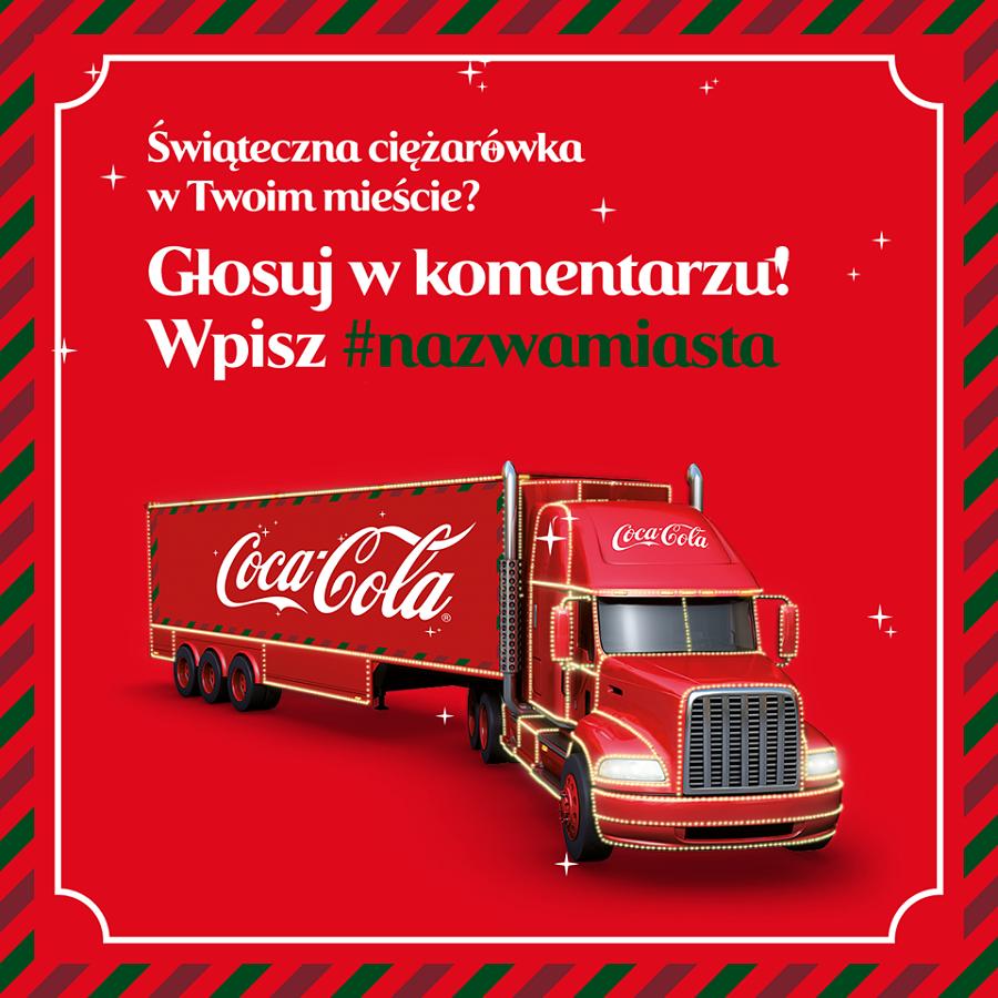 Ciężarówka Coca-Coli ponownie w Nysie? Głosujmy!