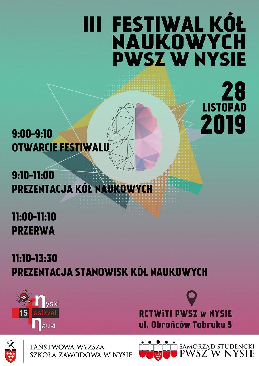 III Festiwal Kół Naukowych PWSZ