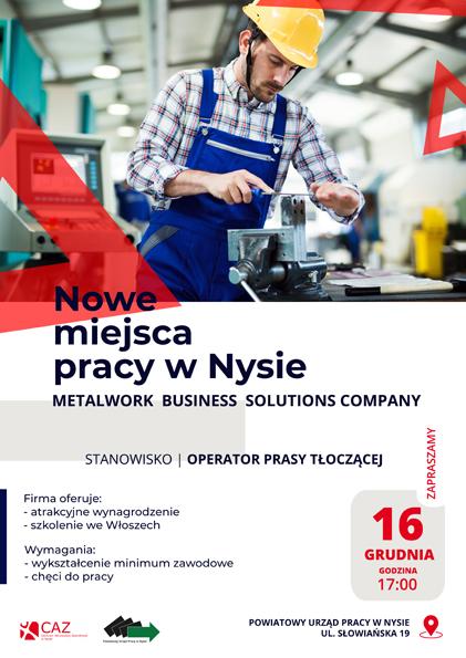 Nowe miejsca pracy w Nysie