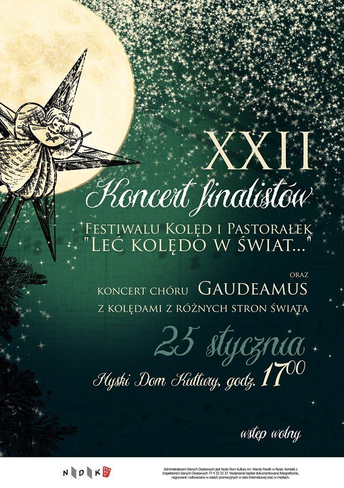 Koncert finalistów Festiwalu Kolęd i Pastorałek
