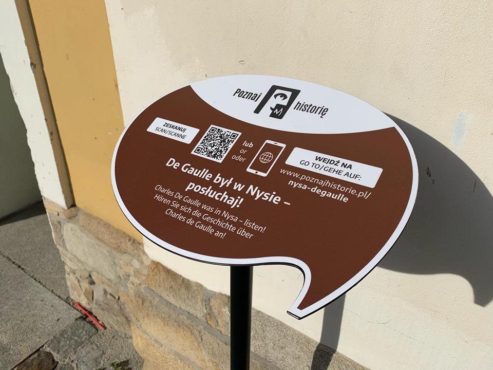 ITabliczki informacyjne przybliżą historię Nysy