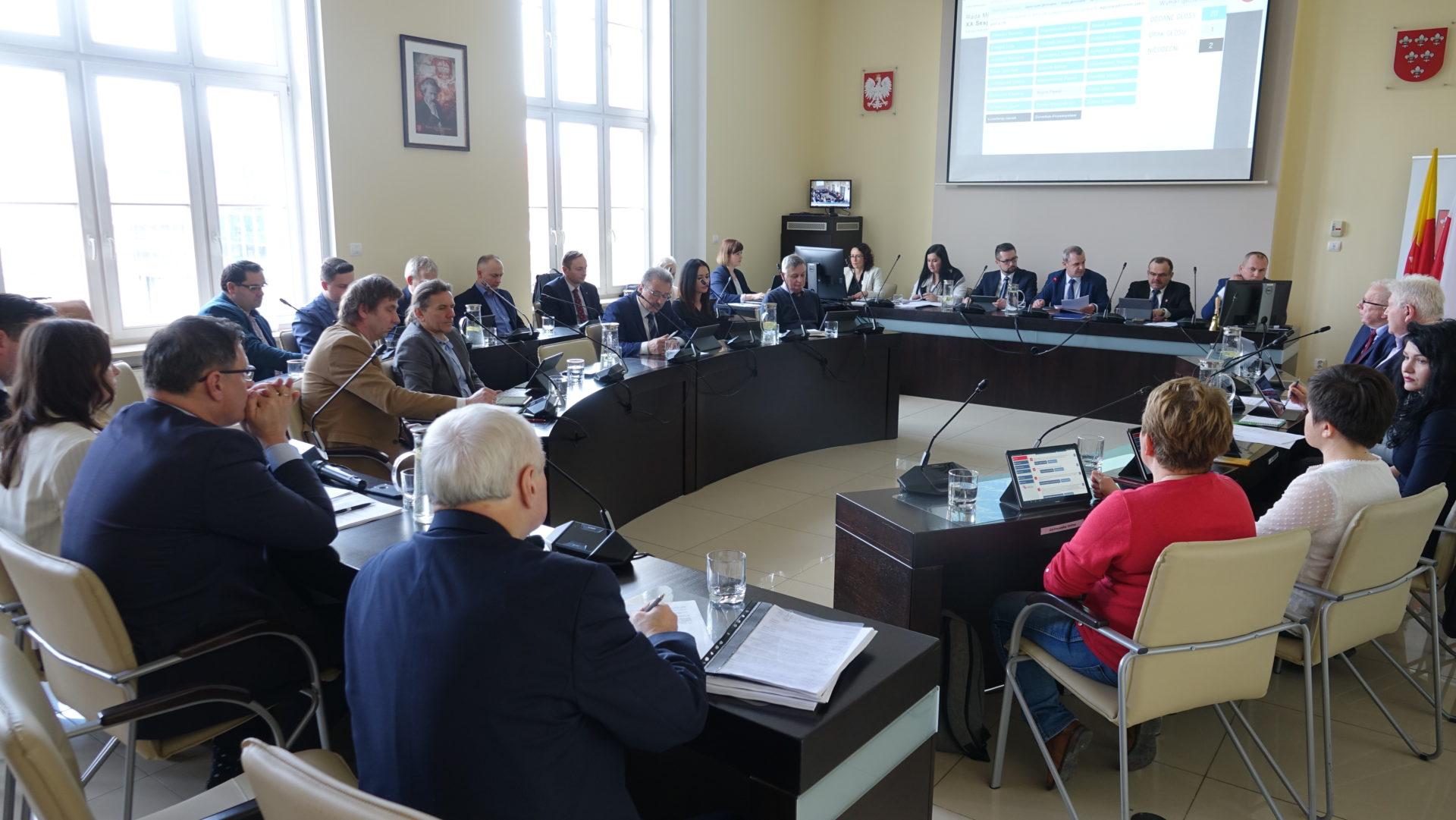 Podsumowanie XX sesji Rady Miejskiej w Nysie