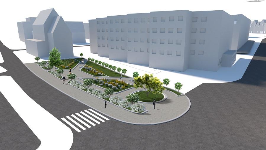 Nowy wygląd Placu Jana Pawła II