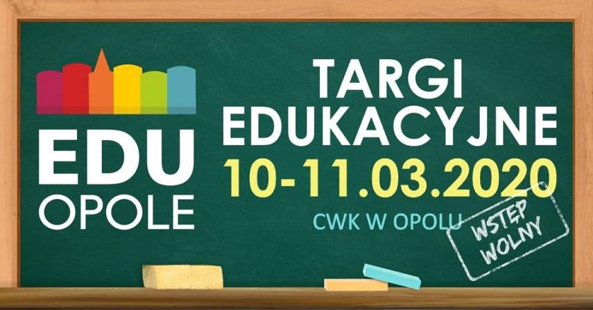 Największe w regionie Targi Edukacyjne EDU OPOLE 2020