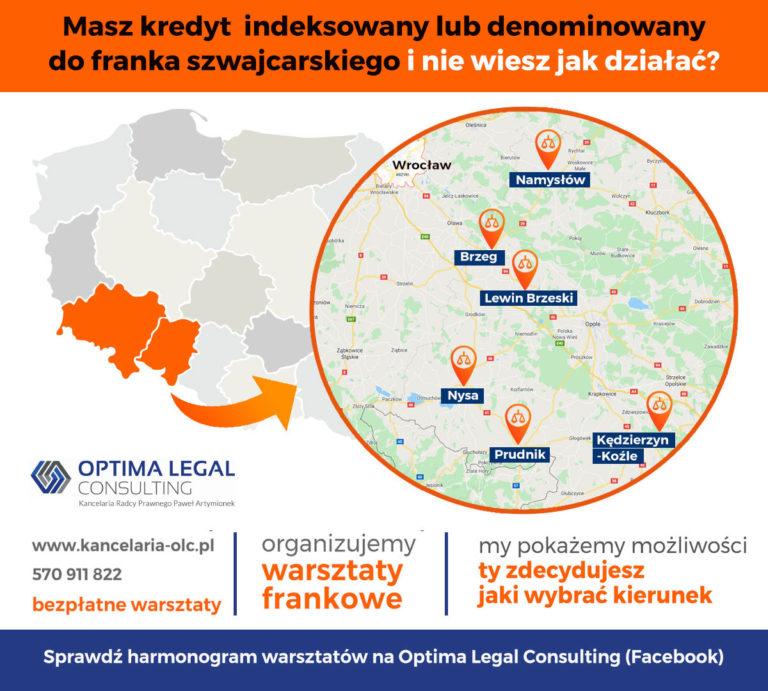 """IWarsztaty dla """"frankowiczów"""" - bezpłatne porady prawne"""