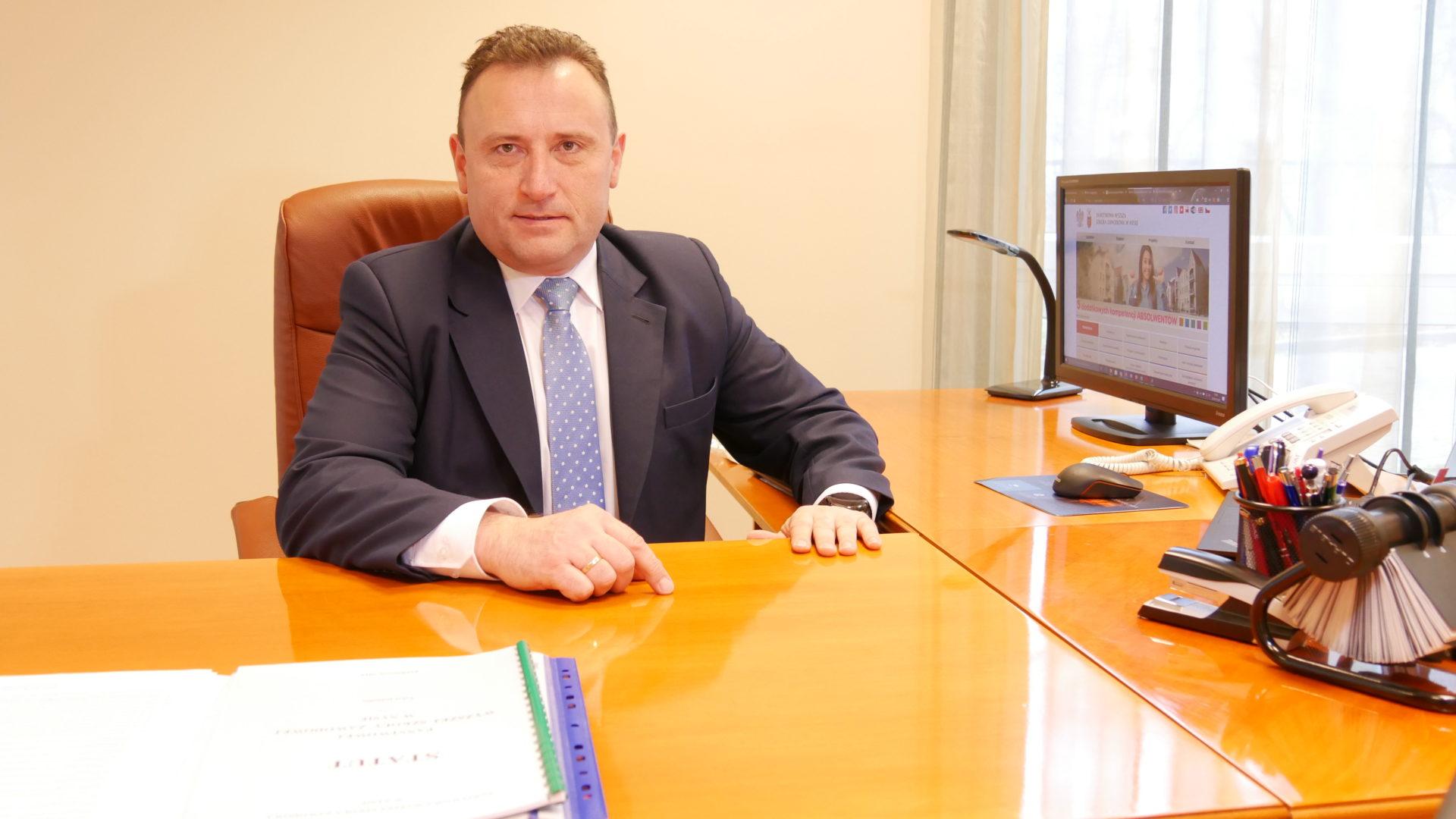 Przemysław Malinowski wybrany na Rektora PWSZ w Nysie na lata 2020-2024