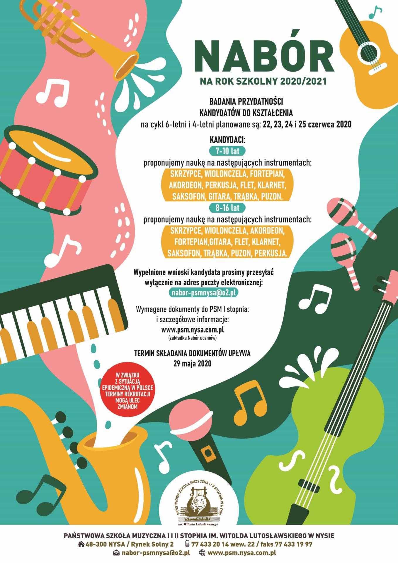 Odkryj swój talent i zostań uczniem szkoły muzycznej w Nysie