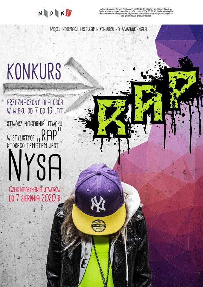 Nyski Dom Kultury organizuje konkurs dla młodych raperów