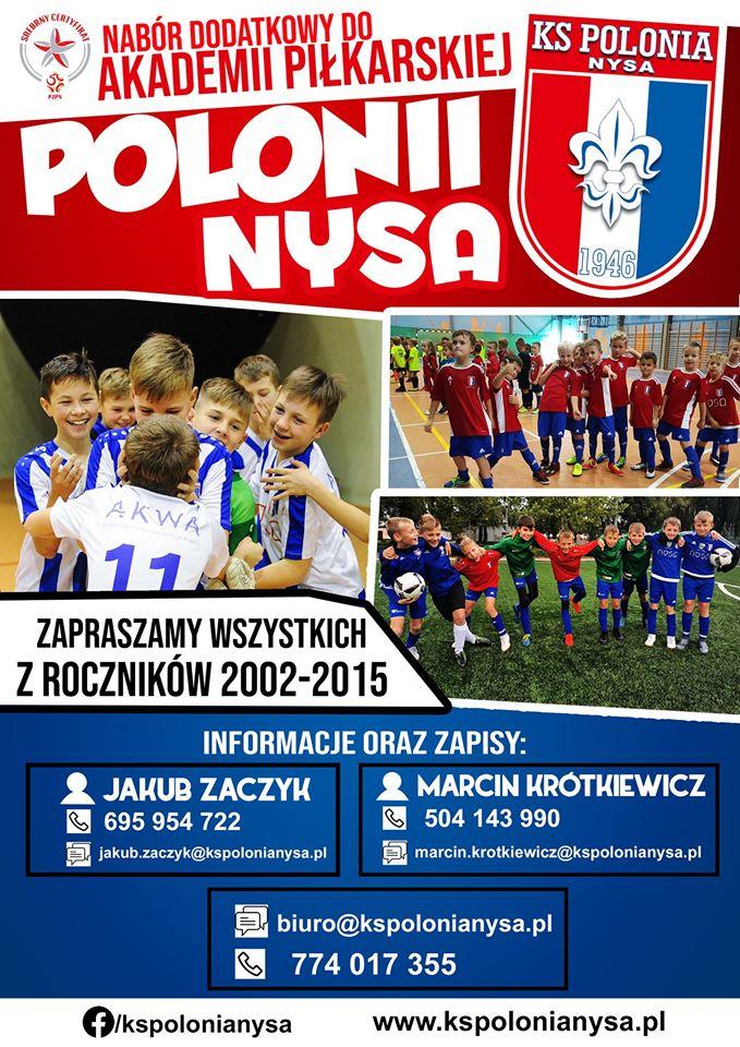 Dodatkowy nabór do Akademii Polonii Nysa