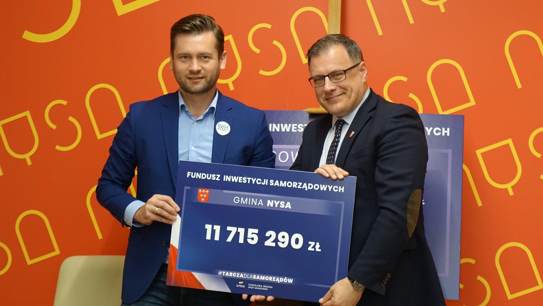 Blisko 12 milionów złotych dla Nysy!
