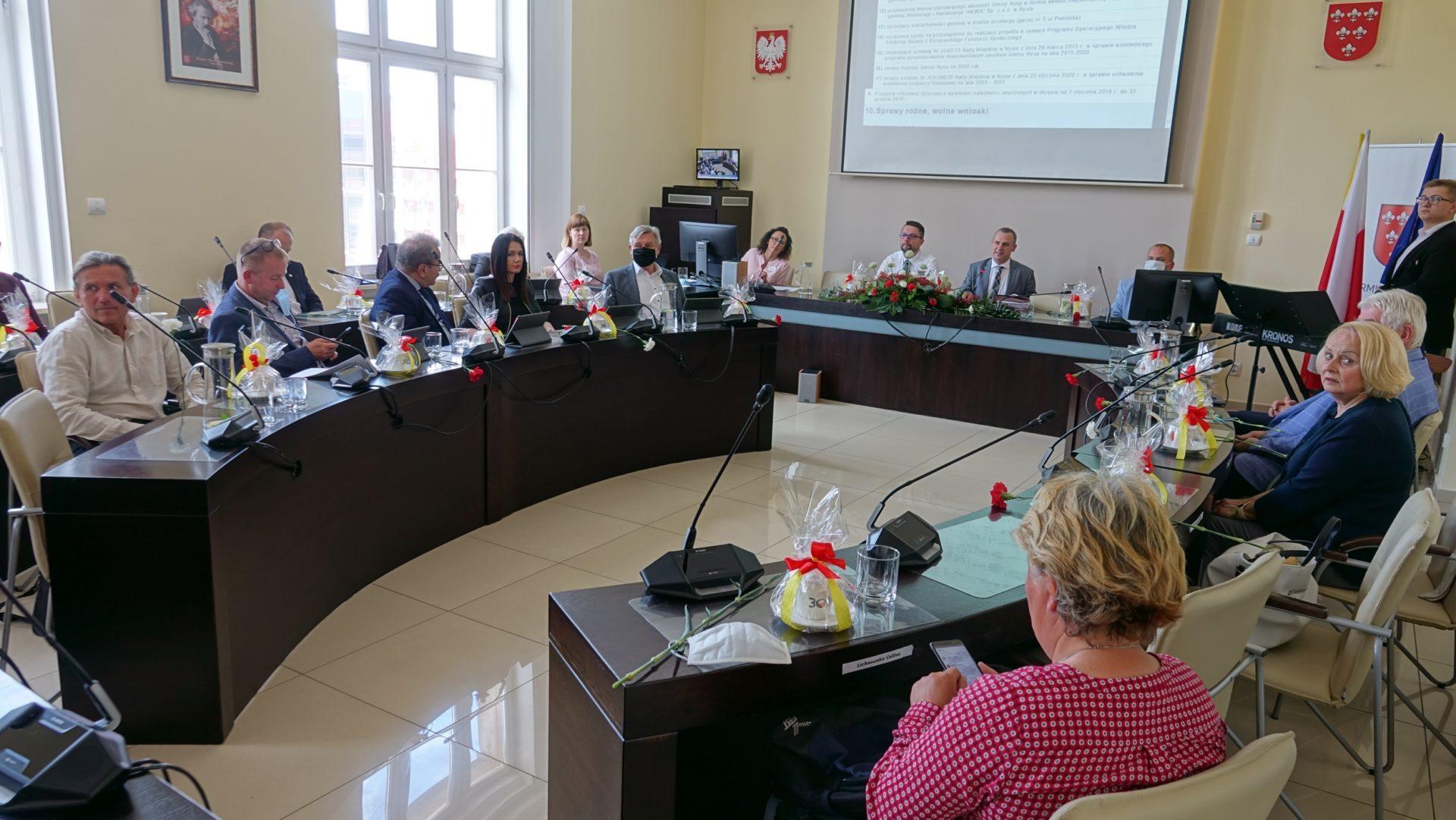 Zmiana godziny sesji Rady Miejskiej w Nysie