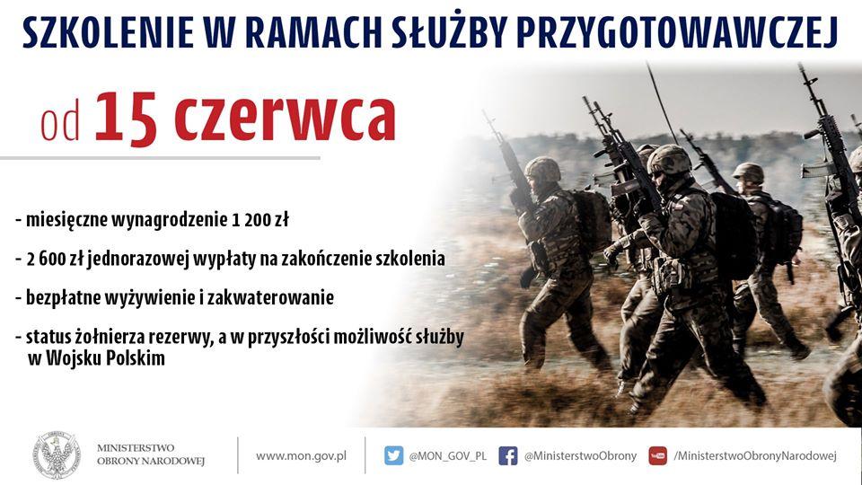 Szkolenie w Wojsku Polskim szansą dla tych, którzy stracili pracę