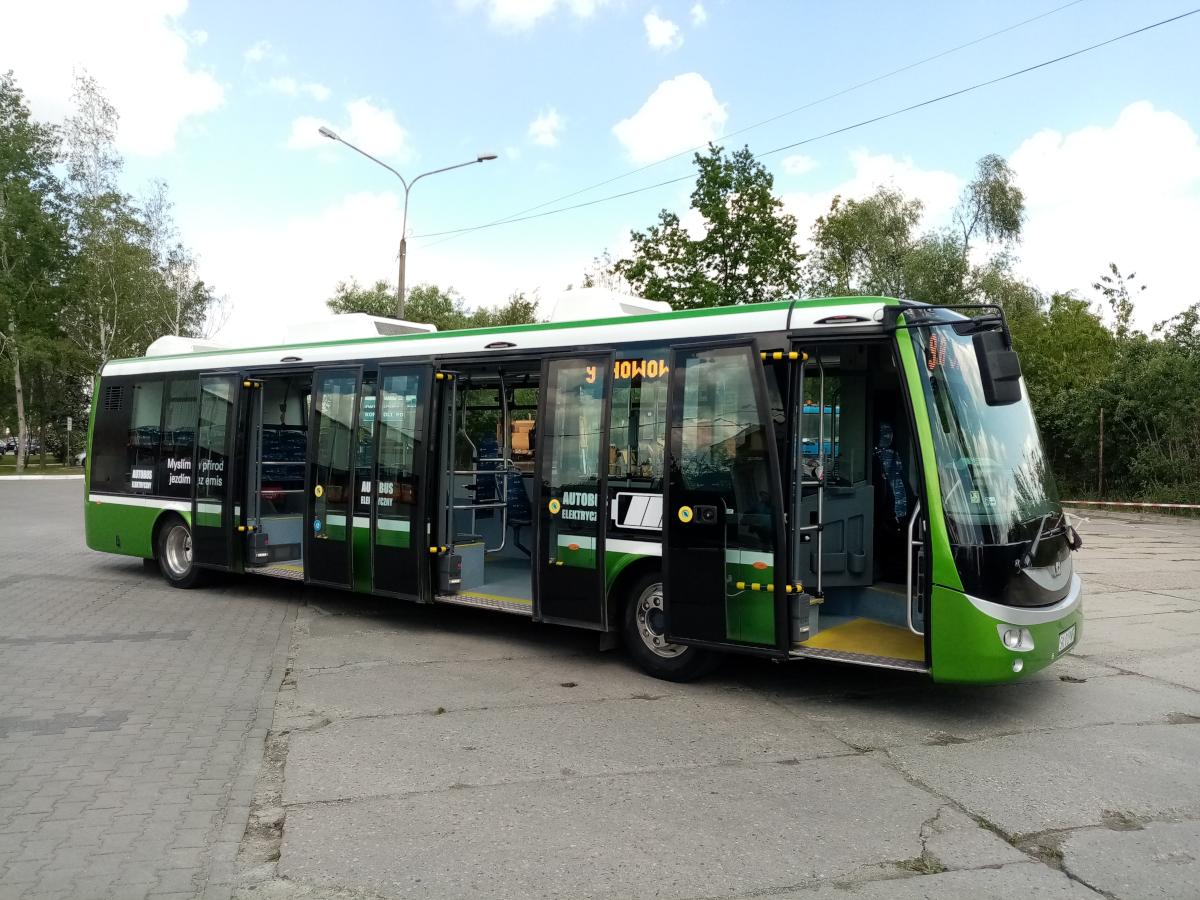 MZK testuje elektryczny autobus