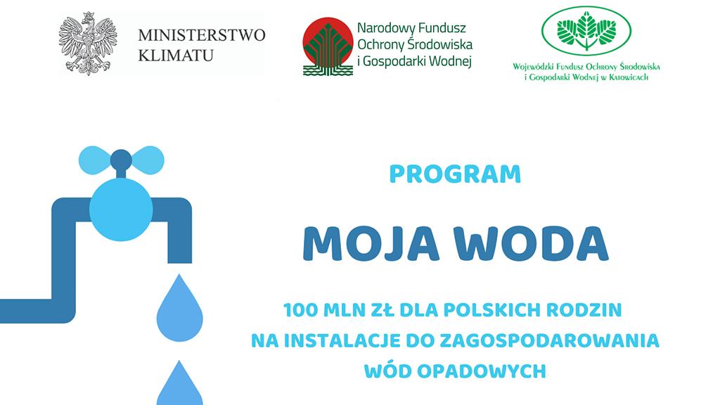 "Rusza program ""Moja Woda"""