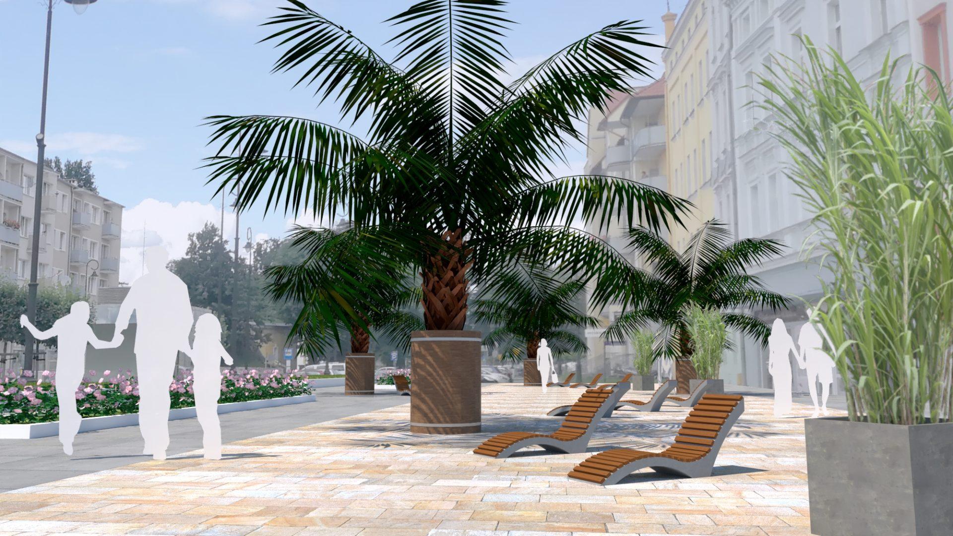 Palmy przy Piastowskiej