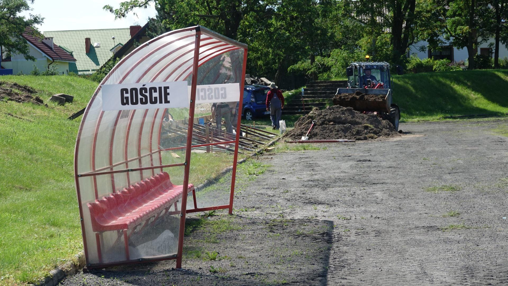 Ruszył remont stadionu Polonii
