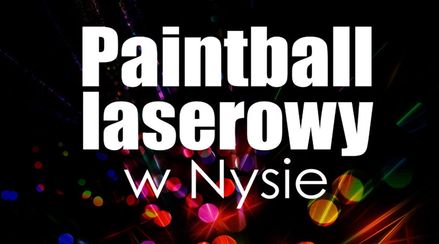 Paintball laserowy