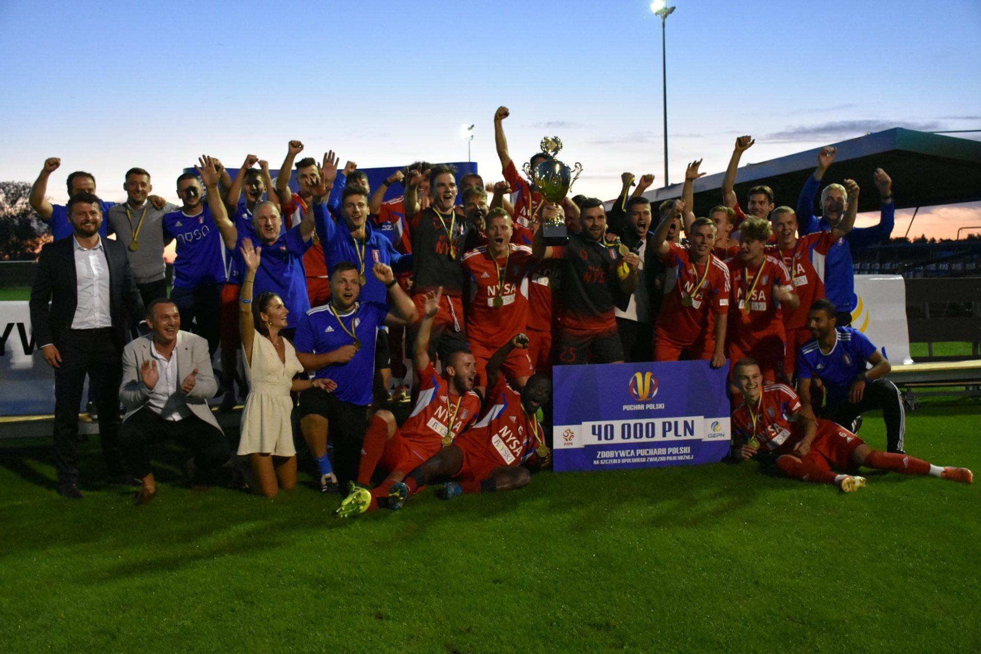 Polonia Nysa wygrała w wielkim finale regionalnego Pucharu Polski!