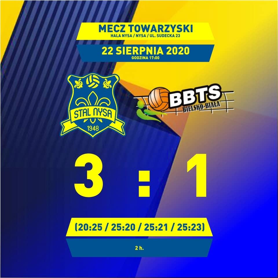 Stal wygrywa pierwszy mecz na własnym terenie w sezonie 2020/2021
