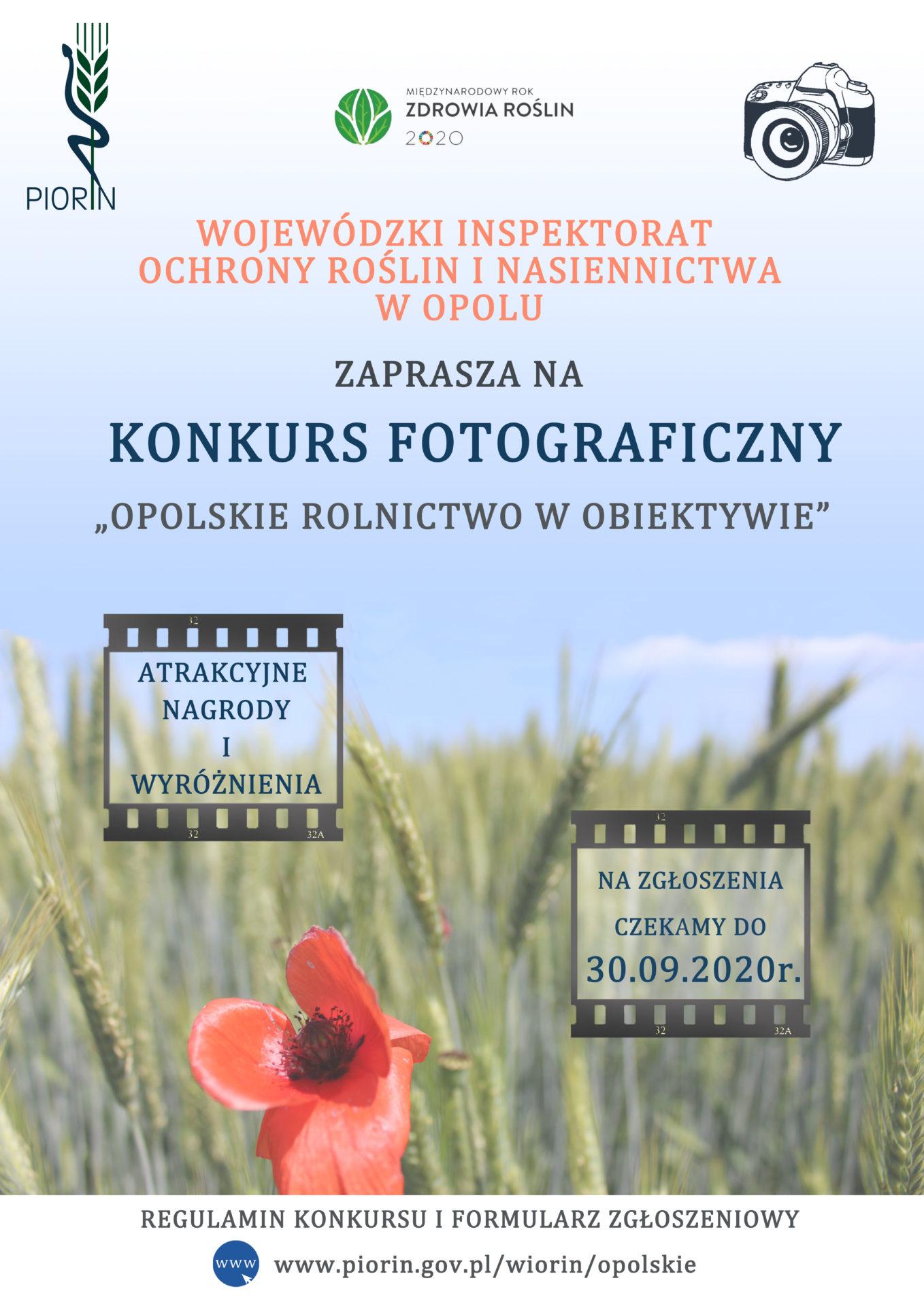 """Konkurs – """"Opolskie rolnictwo w obiektywie"""""""