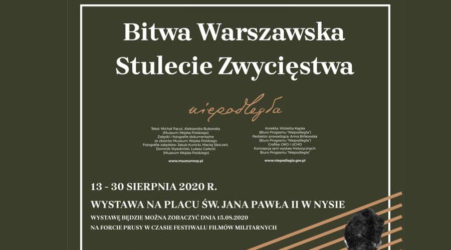 Stulecie zwycięstwa – Bitwa Warszawska