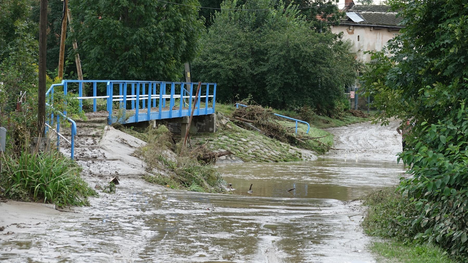 Parafia zbiera dla powodzian