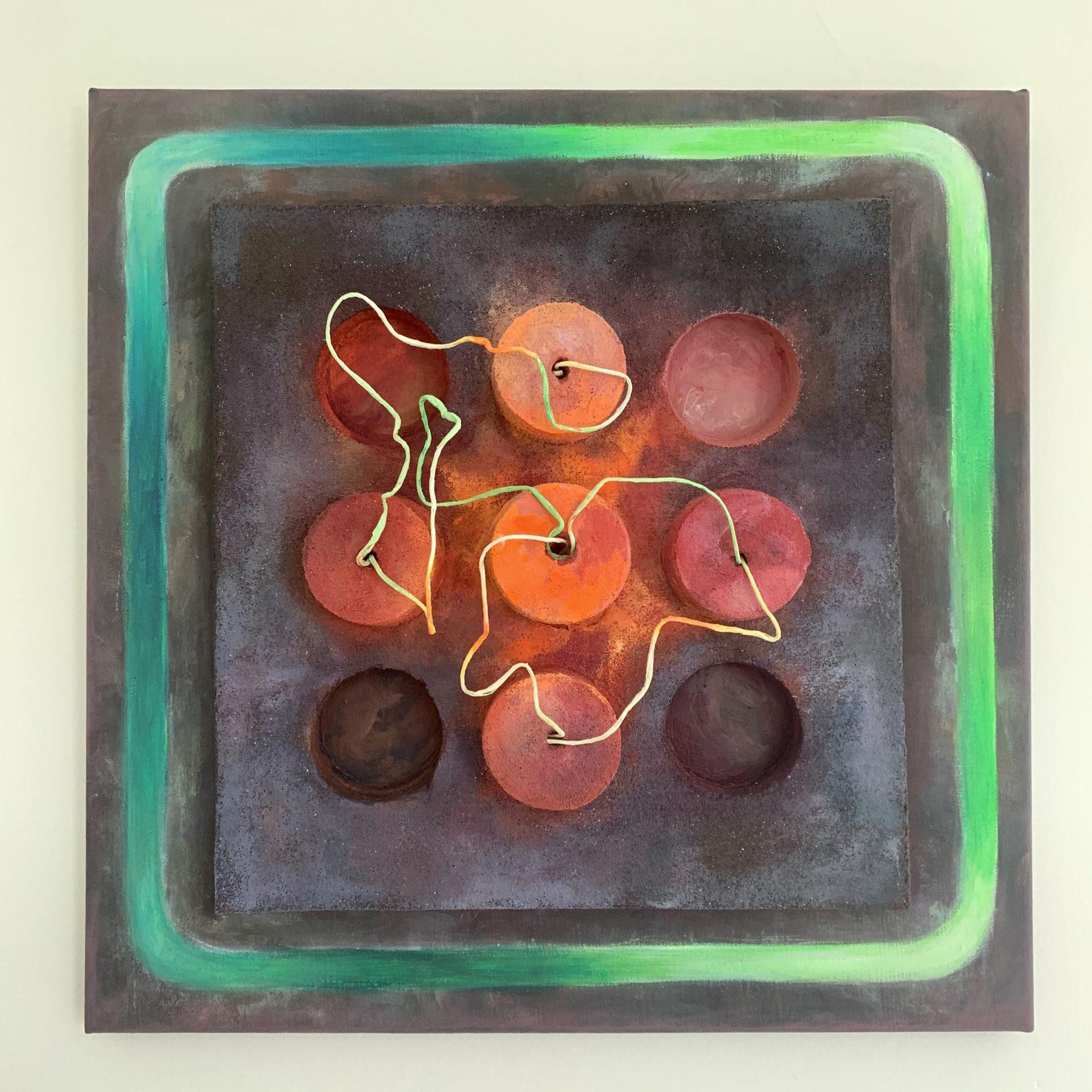 Wystawa malarstwa Justyny Janek BARWNE HORYZONTY