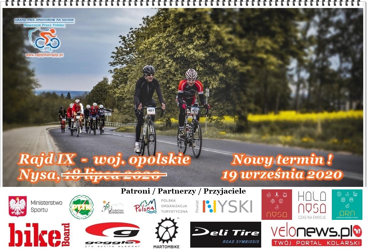 GRAND PRIX Amatorów Na Szosie – Rowerem przez Polskę 2020