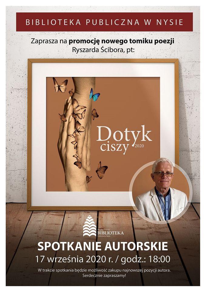 Promocja tomiku wierszy Ryszarda Ścibora