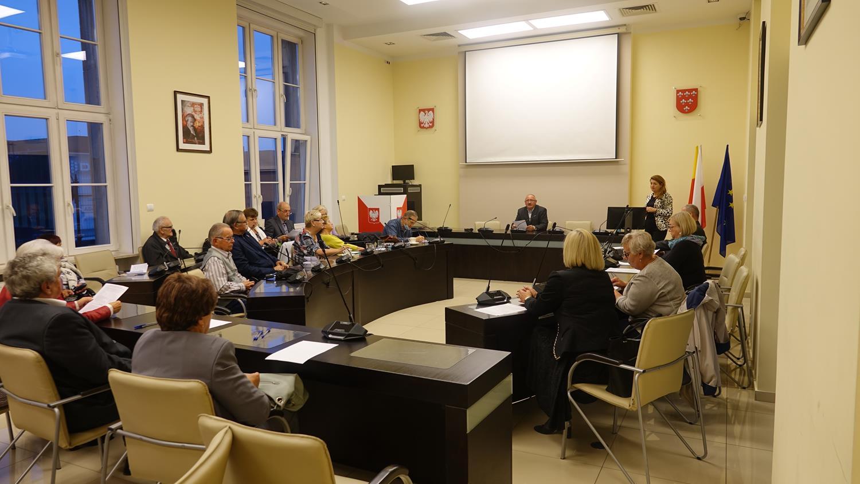 Radni III kadencji Rady Seniorów