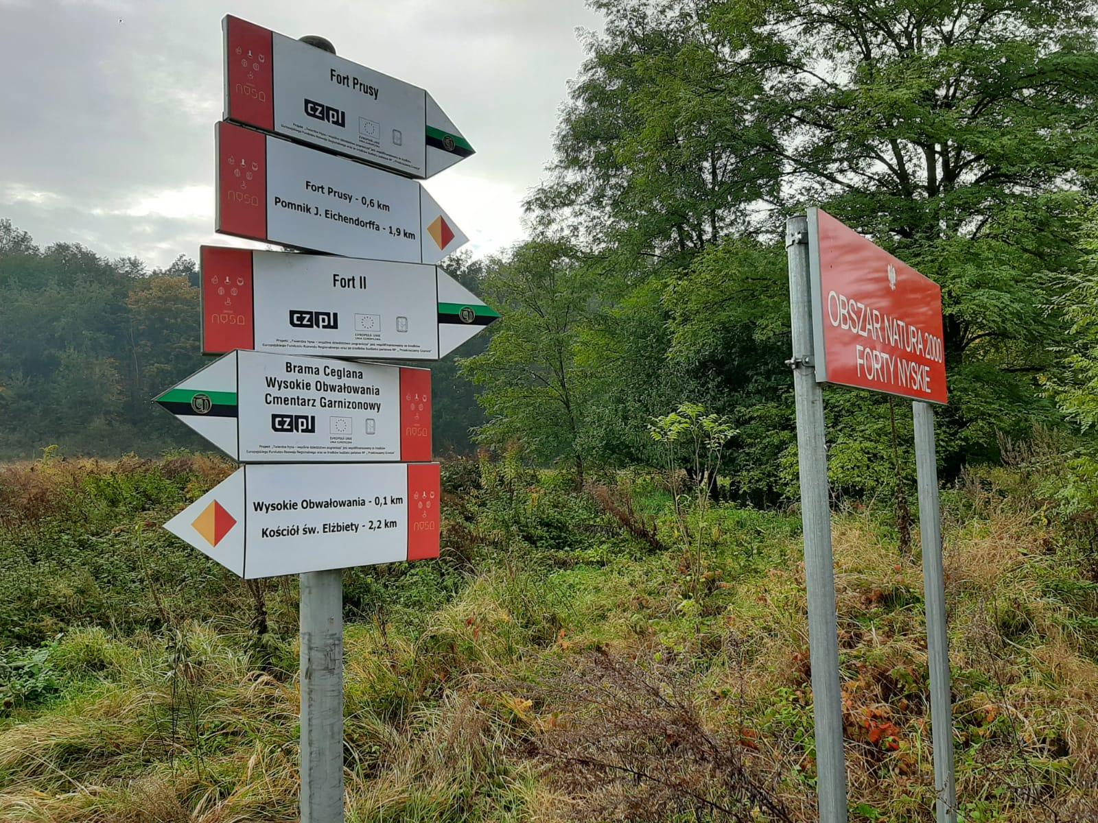 Nowe oznakowania na szlakach turystycznych