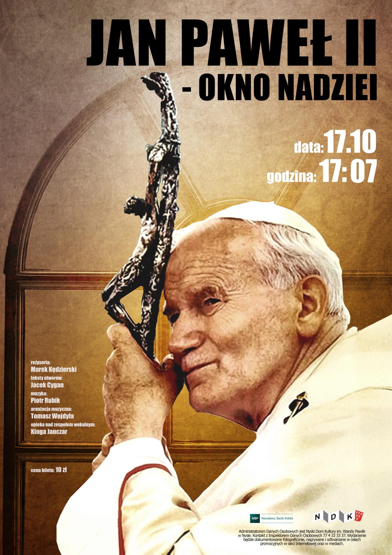 Jan Paweł II – okno nadziei