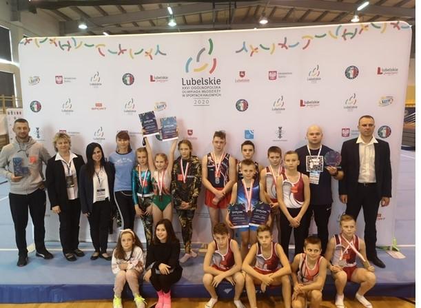 Kolejny wielki sukces nyskich gimnastyków!