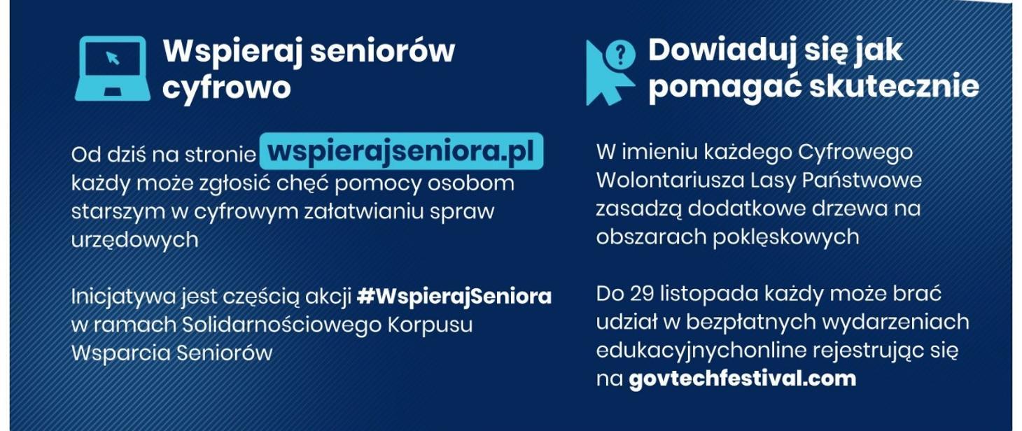 Cyfrowy Wolontariusz dołącza do pomocy seniorom