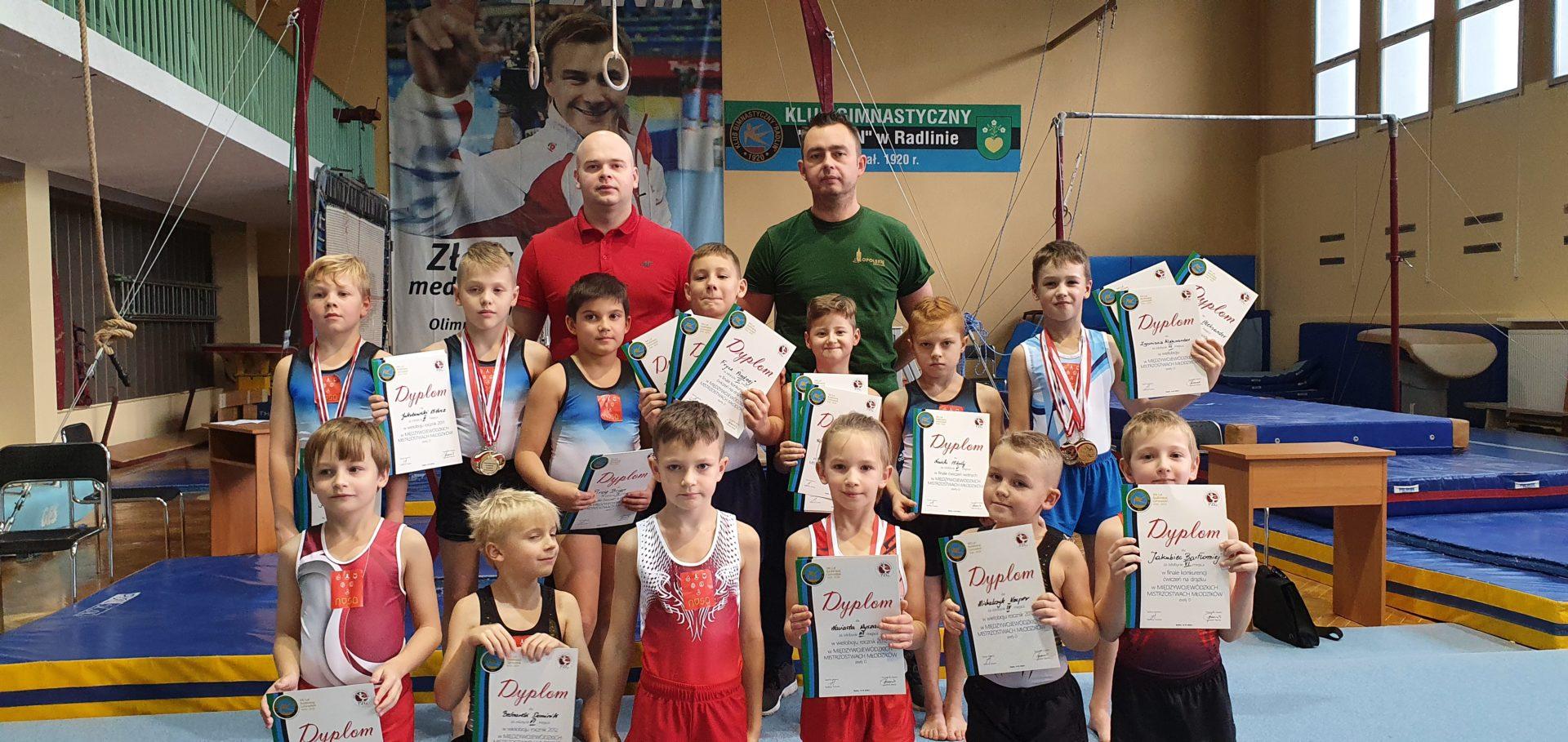 Gimnastycy na fali sukcesów!