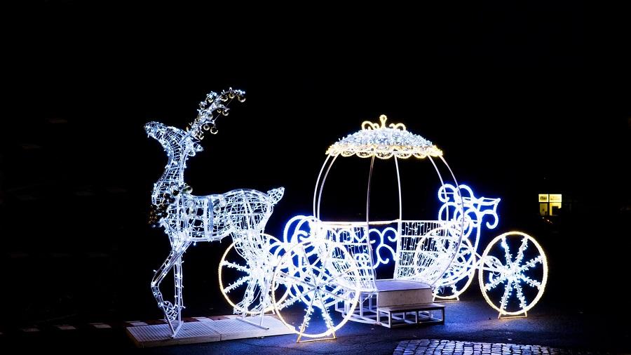 Część świątecznych iluminacji zmieni swoje miejsce