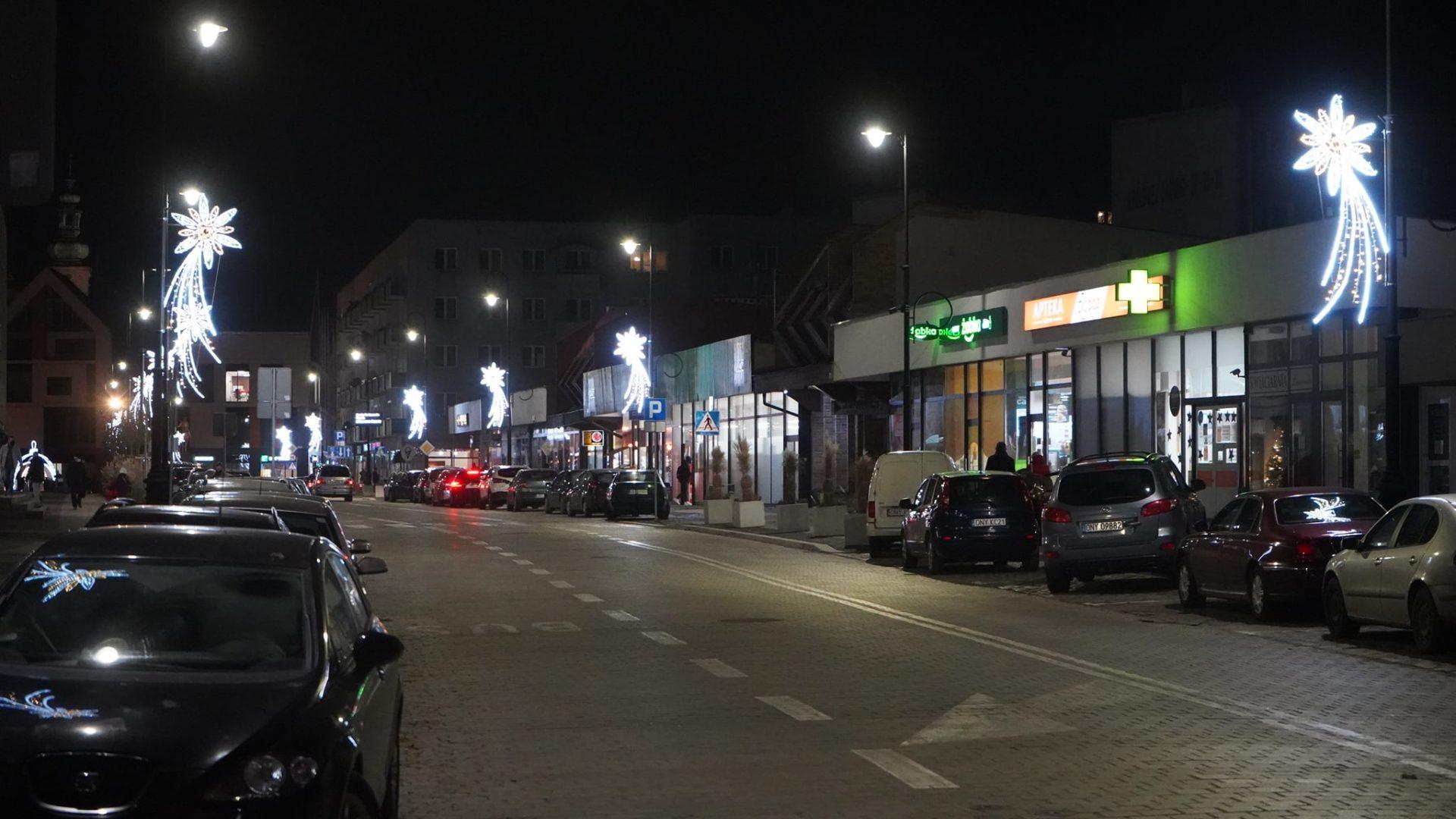 świateczne ozoby na Wrocławskiej
