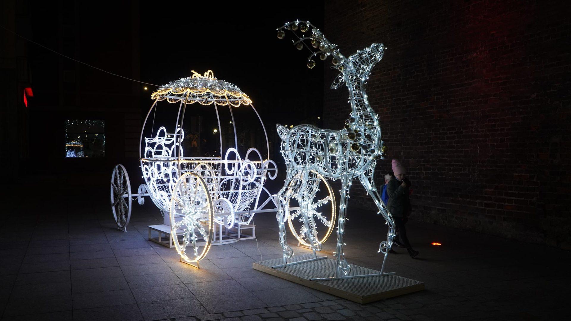 Nysa znów pięknie rozbłysła świątecznymi iluminacjami!