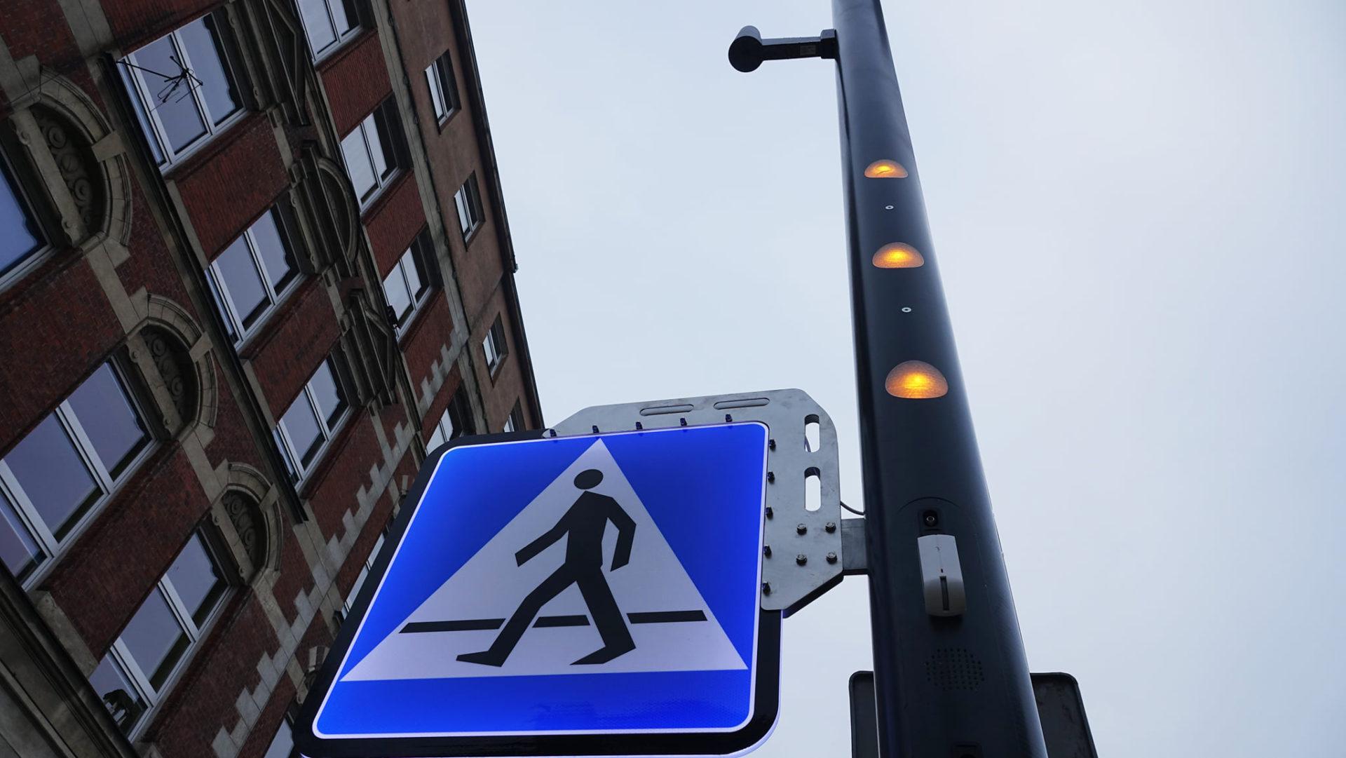 nowe przejście dla pieszych