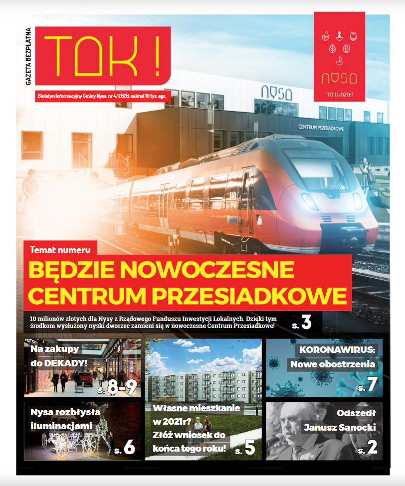 "Nowy numer gazety ""TAK"""