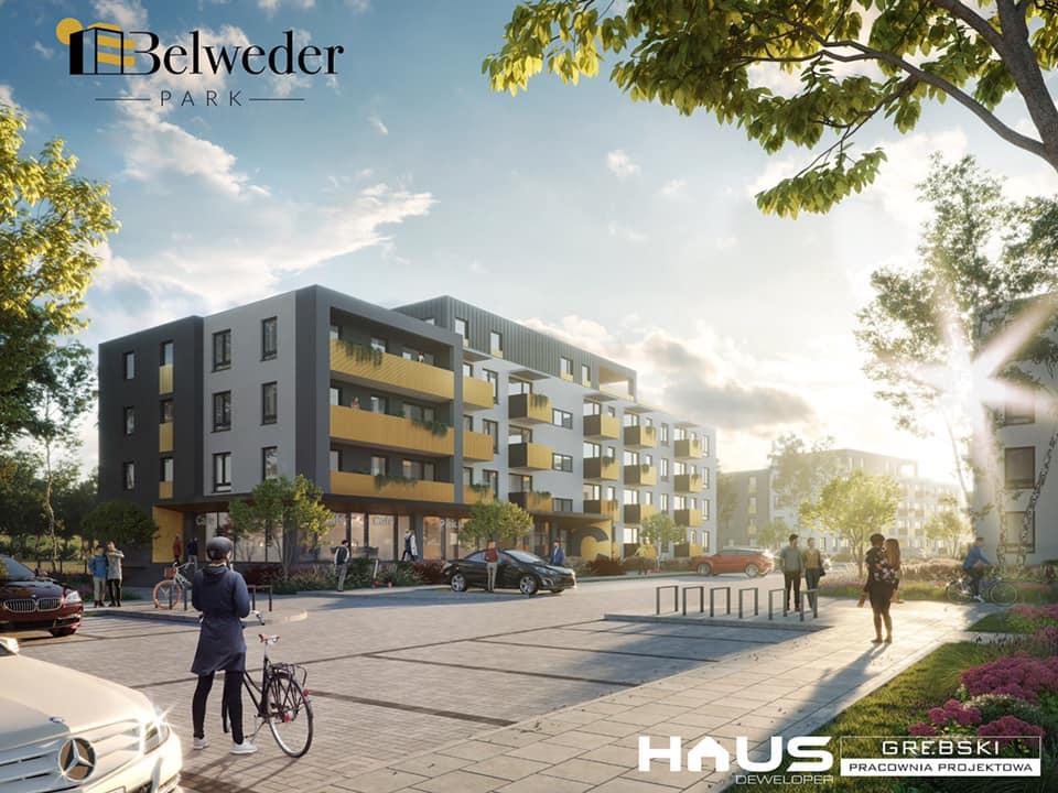 Trwa budowa nowego osiedla Belweder