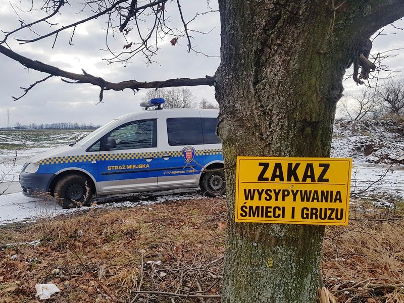 Z pracy Straży Miejskiej…