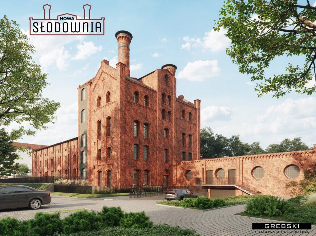 W dawnej słodowni na Słowiańskiej powstaną mieszkania