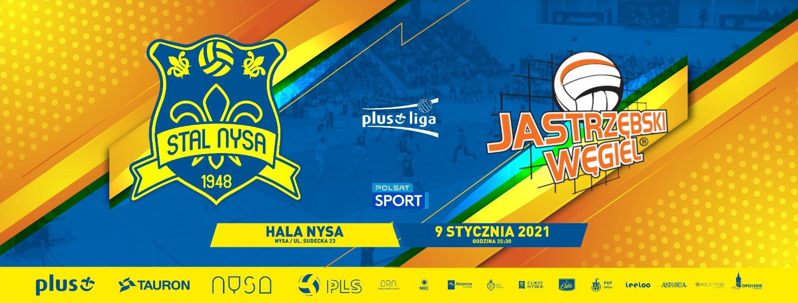 grafika meczu Stal Nysa - Jastrzębski Węgiel