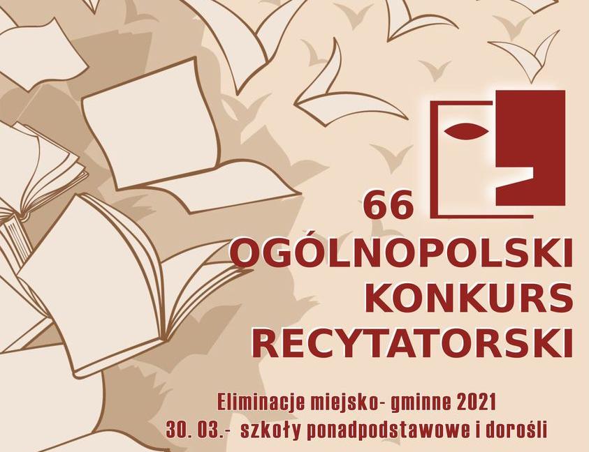 Rusza 66 Ogólnopolski Konkurs Recytatorski