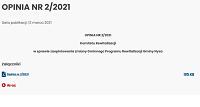 OPINIA NR 2/2021