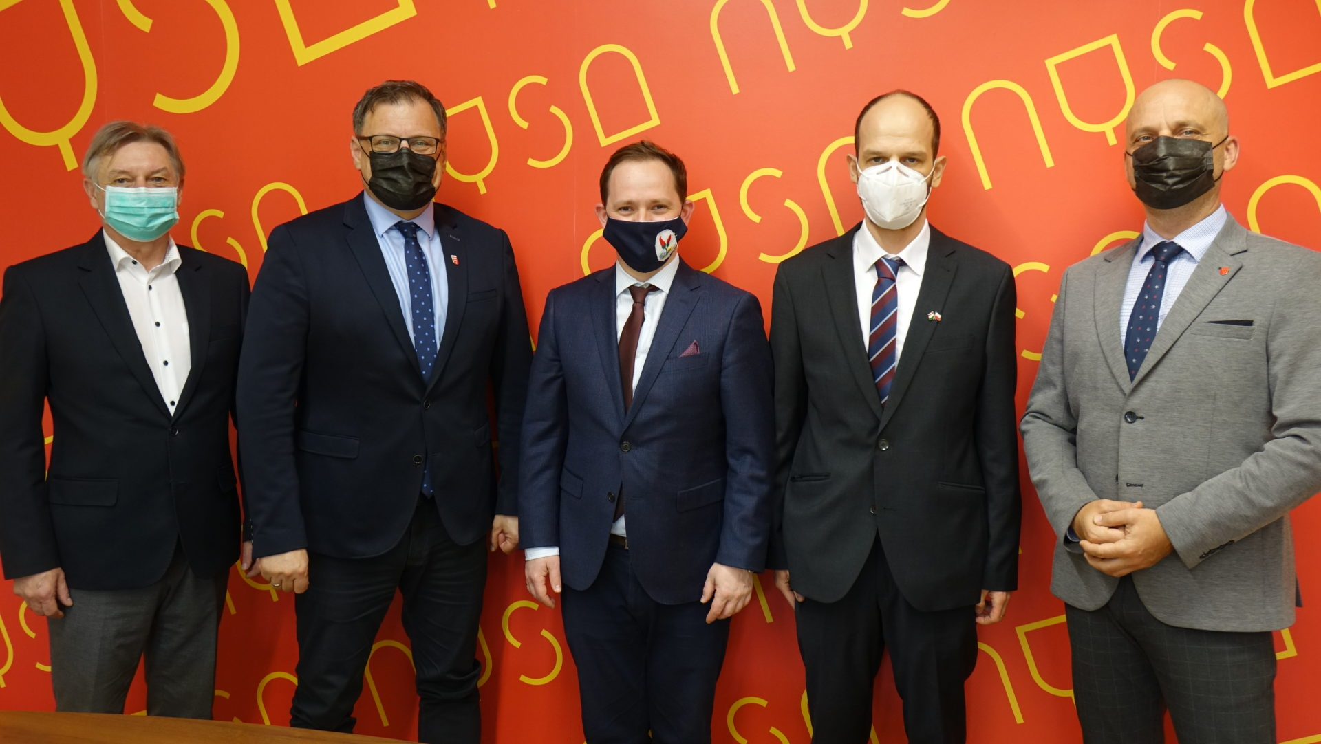 Węgierscy dyplomaci w Nysie